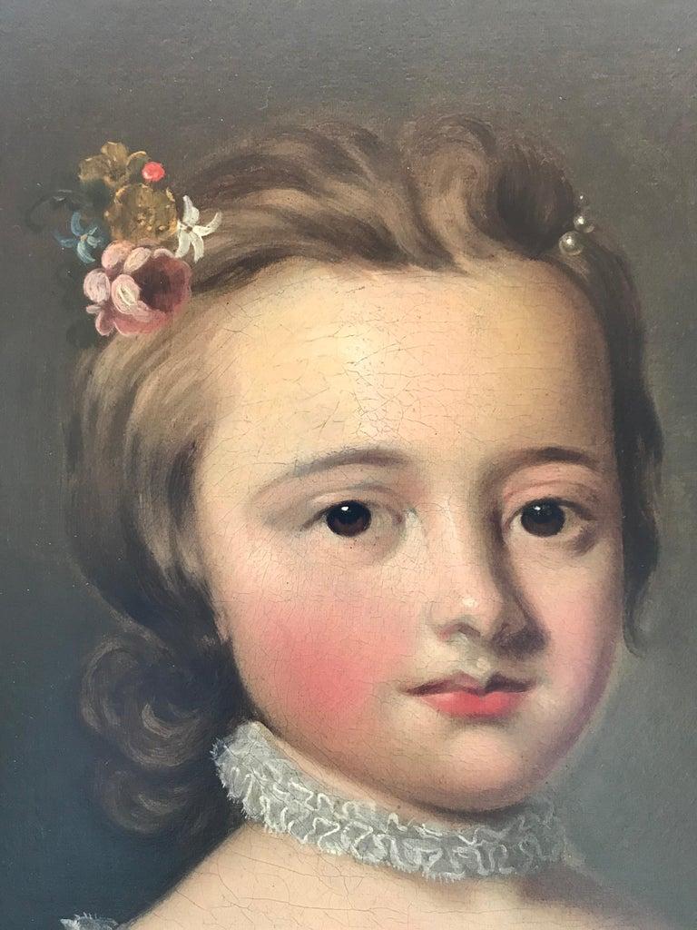 Thomas Hudson - Pair of portraits - 4th Duke of Beauforts children 7