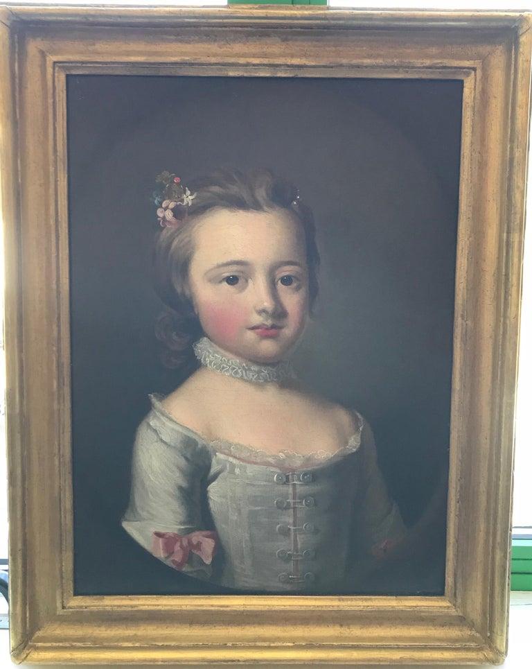 Thomas Hudson - Pair of portraits - 4th Duke of Beauforts children 1