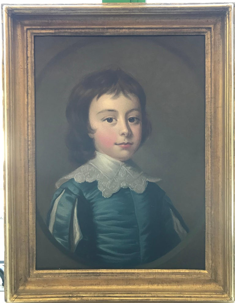 Thomas Hudson - Pair of portraits - 4th Duke of Beauforts children 3