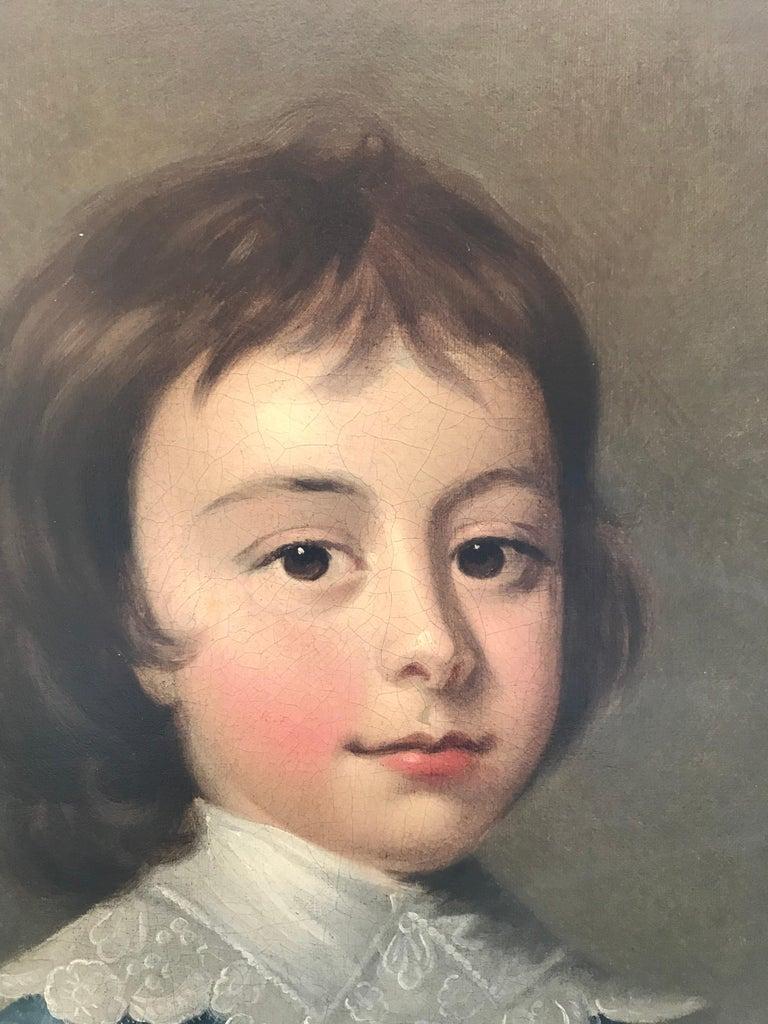 Thomas Hudson - Pair of portraits - 4th Duke of Beauforts children 5