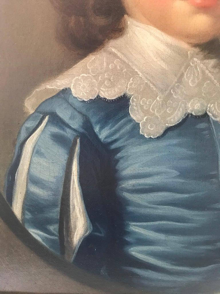 Thomas Hudson - Pair of portraits - 4th Duke of Beauforts children 6