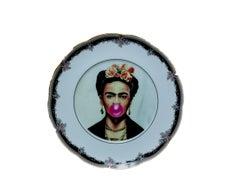 Frida Kahlo Vintage Plate