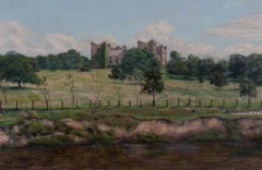 Thomas J. Jameson - 1898 Oil, Castellated Country House