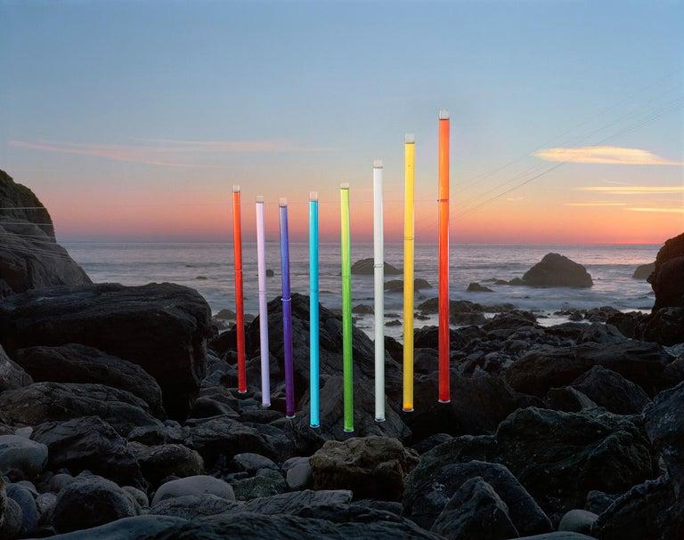Thomas Jackson Landscape Photograph - Kool-Aid no. 1, Muir Beach, California