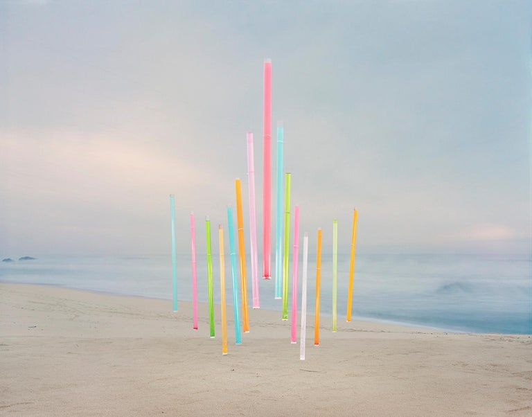 Thomas Jackson Landscape Photograph - Kool-Aid no. 2, Montara, California