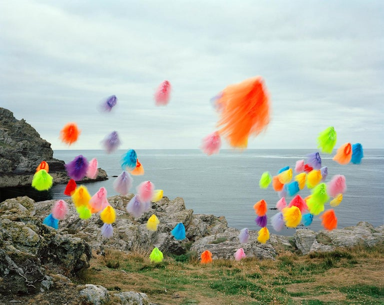 Thomas Jackson Color Photograph - Tutus no. 5, The Sound, Isle of Man