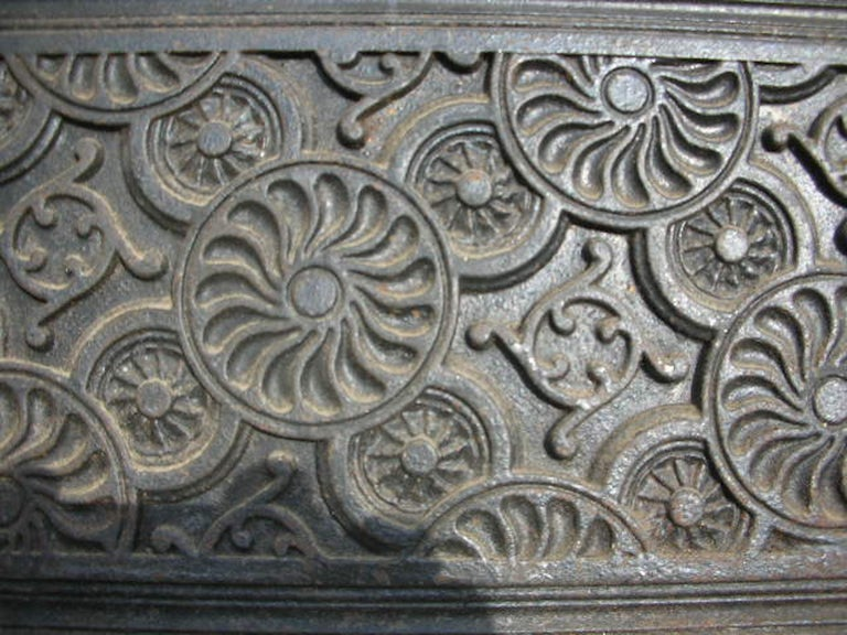 Cast Thomas Jeckyll, Aesthetic Movement Fire Insert, Made by Barnard Bishop & Barnard For Sale