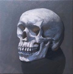 Still Life, (Skull left)