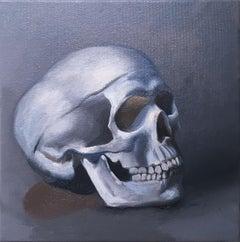 Still Life, (Skull right)