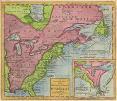 1762 Map of North America