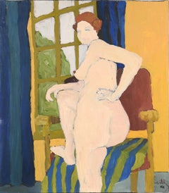Nude by the Window San Francisco Bay Area Figurative Movement 1966