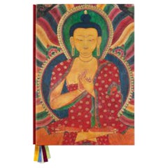 Thomas Laird's Murals of Tibet Signed by the Dalai Lama with Bookstand