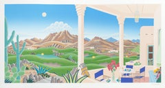 Arizona Golf, Silkscreen by Thomas McKnight