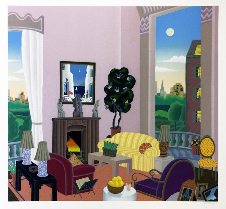 Thomas McKnight Interior Print - BEACON HILL
