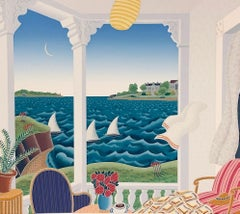 Cape Ann-Limited Edition Serigraph, Signed by Artist
