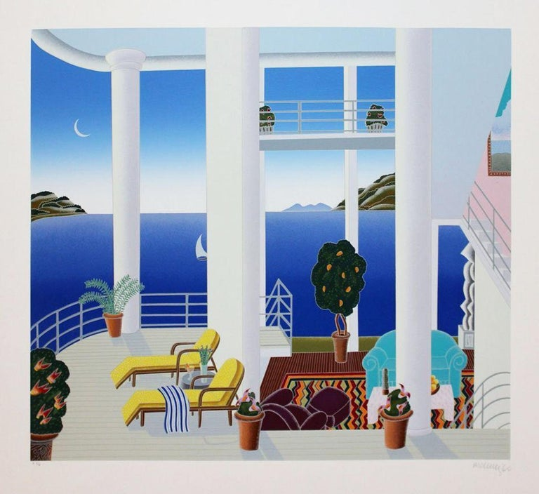 Thomas McKnight Interior Print - CATALINA