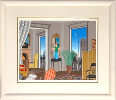 European View, Framed Silkscreen by Thomas McKnight