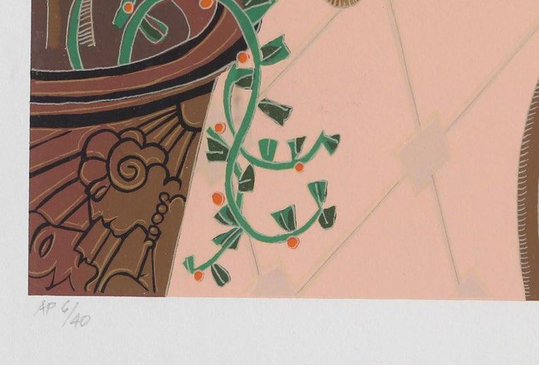 La Jolla, Framed Silkscreen by Thomas McKnight For Sale 2