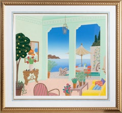 La Jolla, Framed Silkscreen by Thomas McKnight