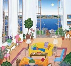 Riverside Drive, Limited Edition Silkscreen, Thomas McKnight