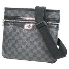 Thomas  Mens  shoulder bag N58028  Damier graphite