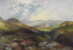 Conwy Castle, North Wales - Thomas Moran - American - 1917