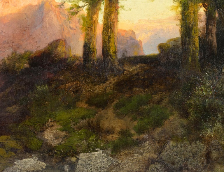 A painting by Thomas Moran.