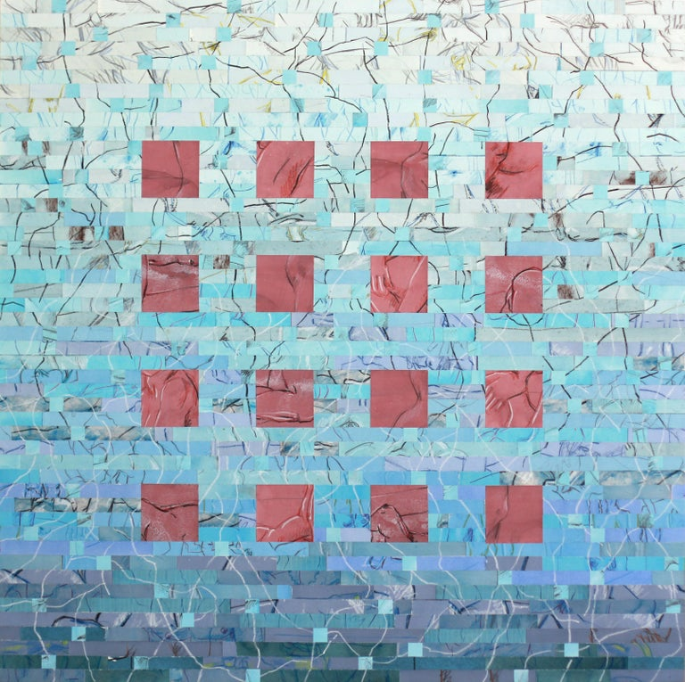 Thomas Morphis Abstract Painting - Interface I