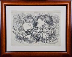 "Christmas 1873, ""The Same Old Story"", Thomas Nast Harper's Weekly Engraving"