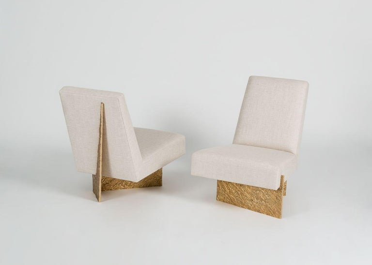 Thomas Pheasant, Origami, Lounge Chair, United, 2015 For Sale 3