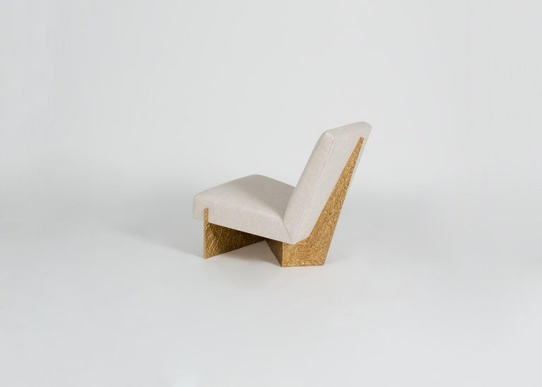 Thomas Pheasant, Origami, Lounge Chair, United, 2015 In Excellent Condition For Sale In New York, NY