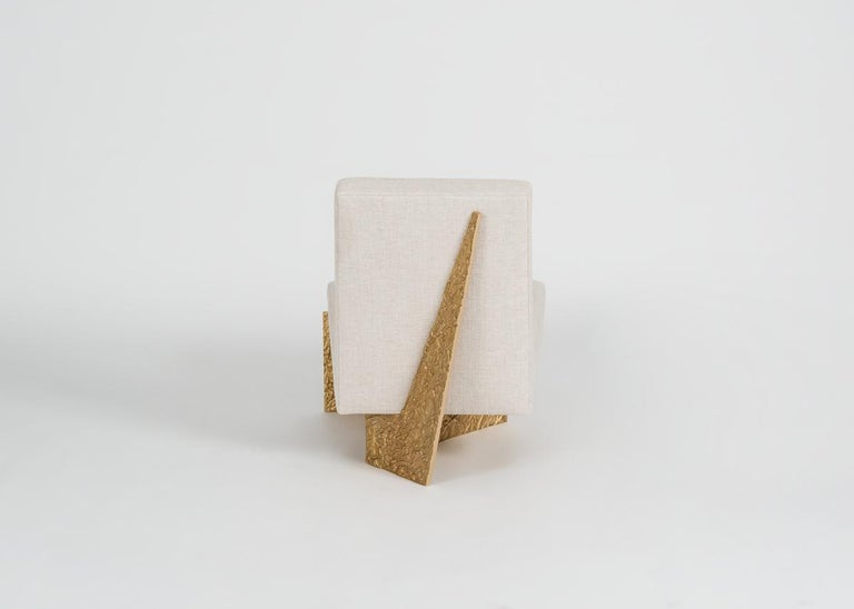 Contemporary Thomas Pheasant, Origami, Lounge Chair, United, 2015 For Sale