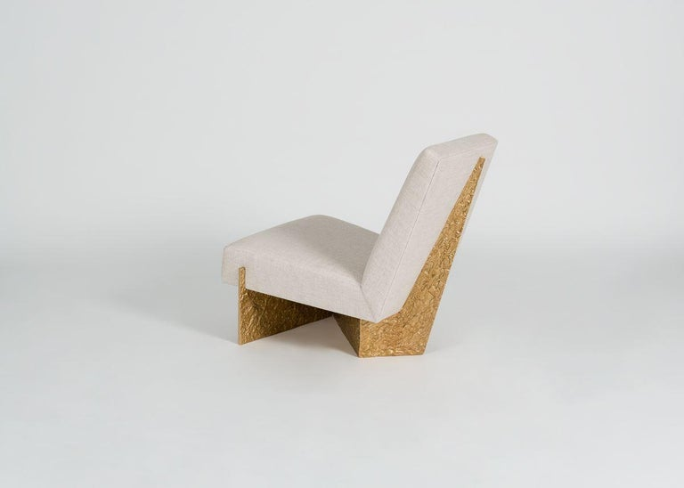Thomas Pheasant, Origami, Lounge Chair, United, 2015 For Sale 2