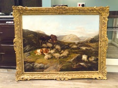 Thomas Sidney Cooper Landscape with Sheep