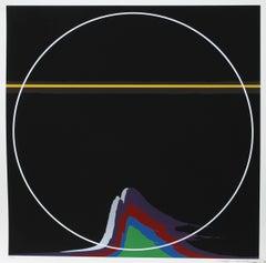 Rainbow Mountain, Silkscreen by Thomas W. Benton