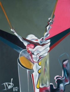 Crucifixion Part 1 by Thomas Dowdeswell Contemporary Abstract Art