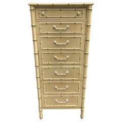 Thomasville Allegro Faux Bamboo Lingerie Chest