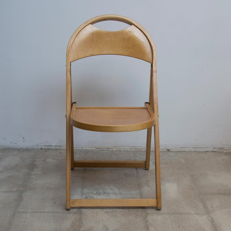 Late 20th Century Two Tric Chairs by Castiglioni, Italy, 1970s For Sale