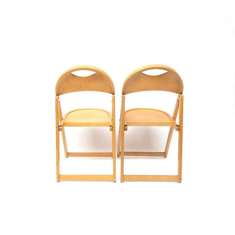 Two Tric Chairs by Castiglioni, Italy, 1970s For Sale 1