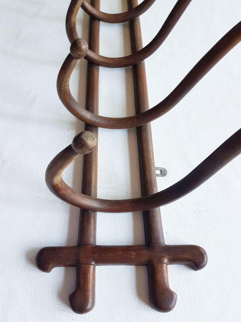 Early 20th Century Thonet Art Deco Coat Hanger Rack, Wien 1910s For Sale