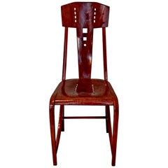 Thonet Art Nouveau Bentwood Chair Model 512, Vienna, circa 1904