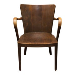Thonet B-47 Writing Desk Armchair, 1920s