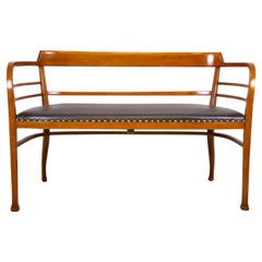 Thonet Bentwood Bench Attributed To Otto Wagner, Austria, circa 1905