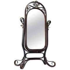 Thonet Bentwood Dressing Mirror, circa 1907