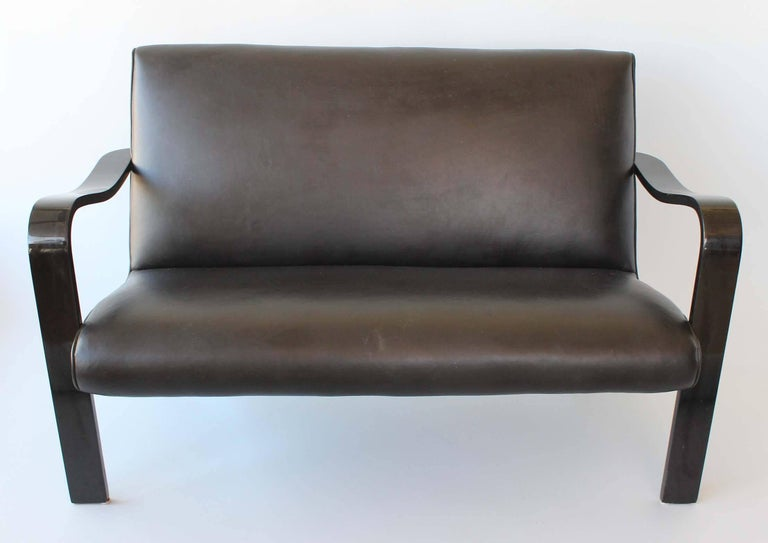 Mid-Century Modern Thonet Bentwood Sofa For Sale