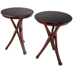 Thonet Brothers Side Tables, Early 20th Century