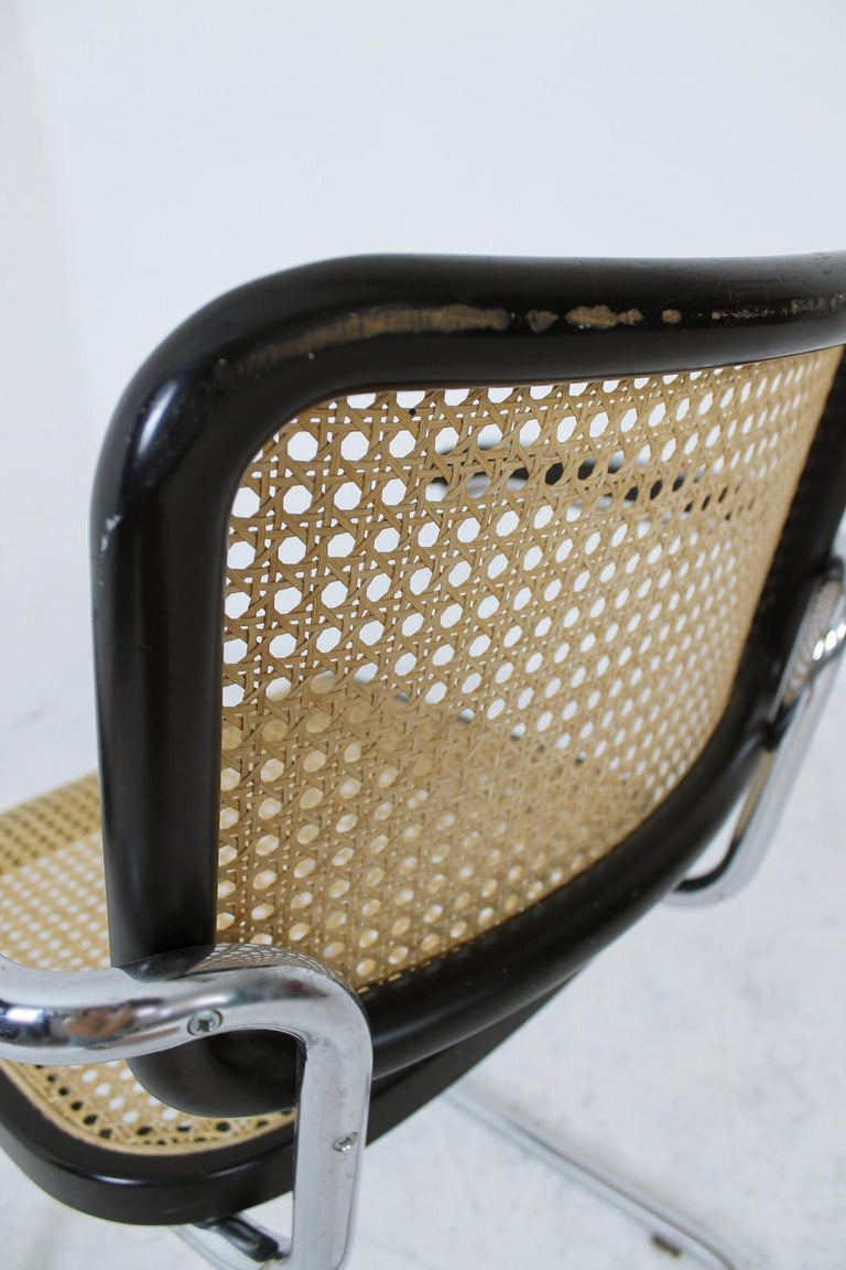Thonet Cantilever Armchair Model B64 by Marcel Breuer, 1927 For Sale 4