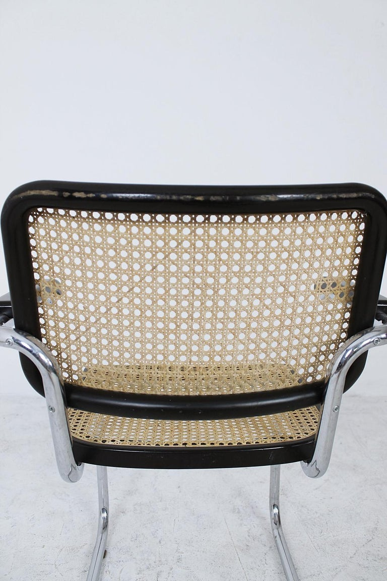Thonet Cantilever Armchair Model B64 by Marcel Breuer, 1927 For Sale 5