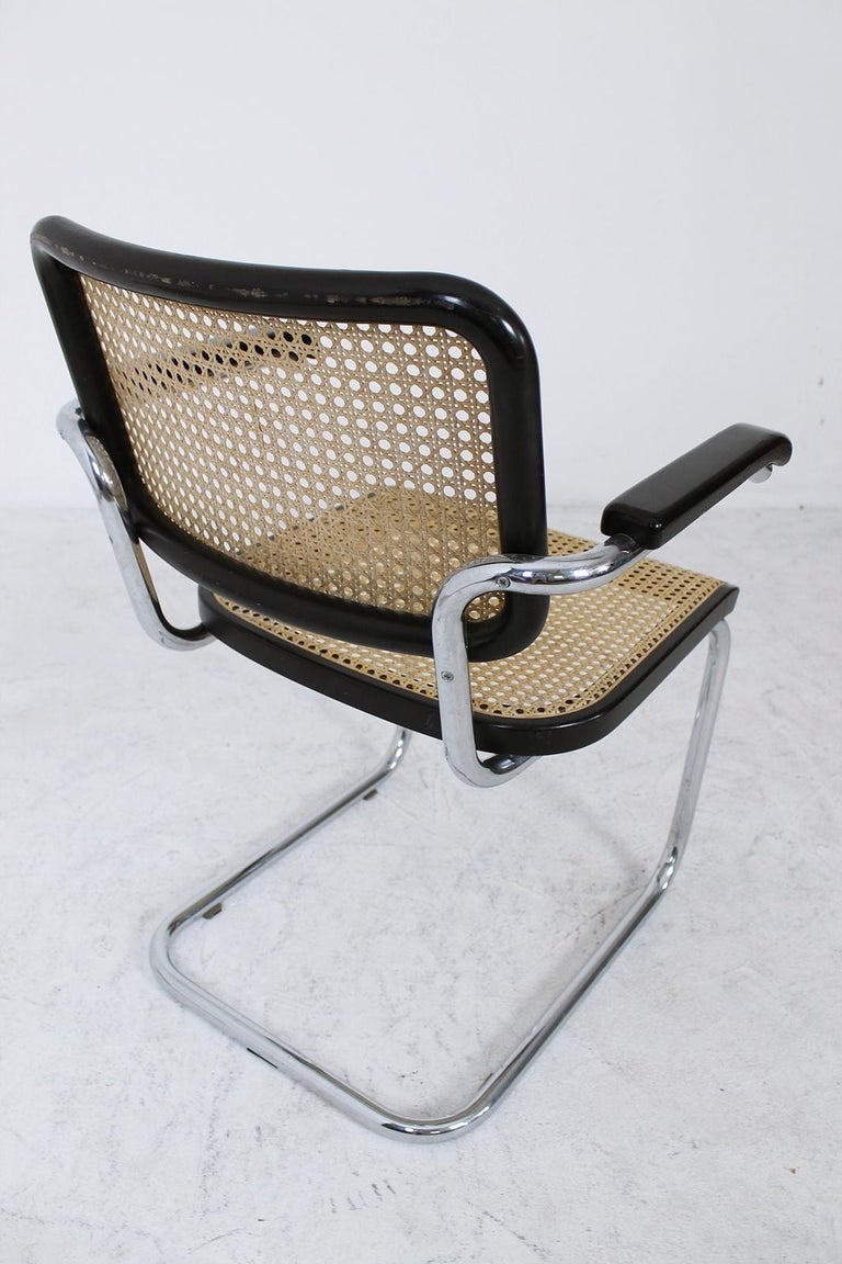 Thonet Cantilever Armchair Model B64 by Marcel Breuer, 1927 For Sale 6