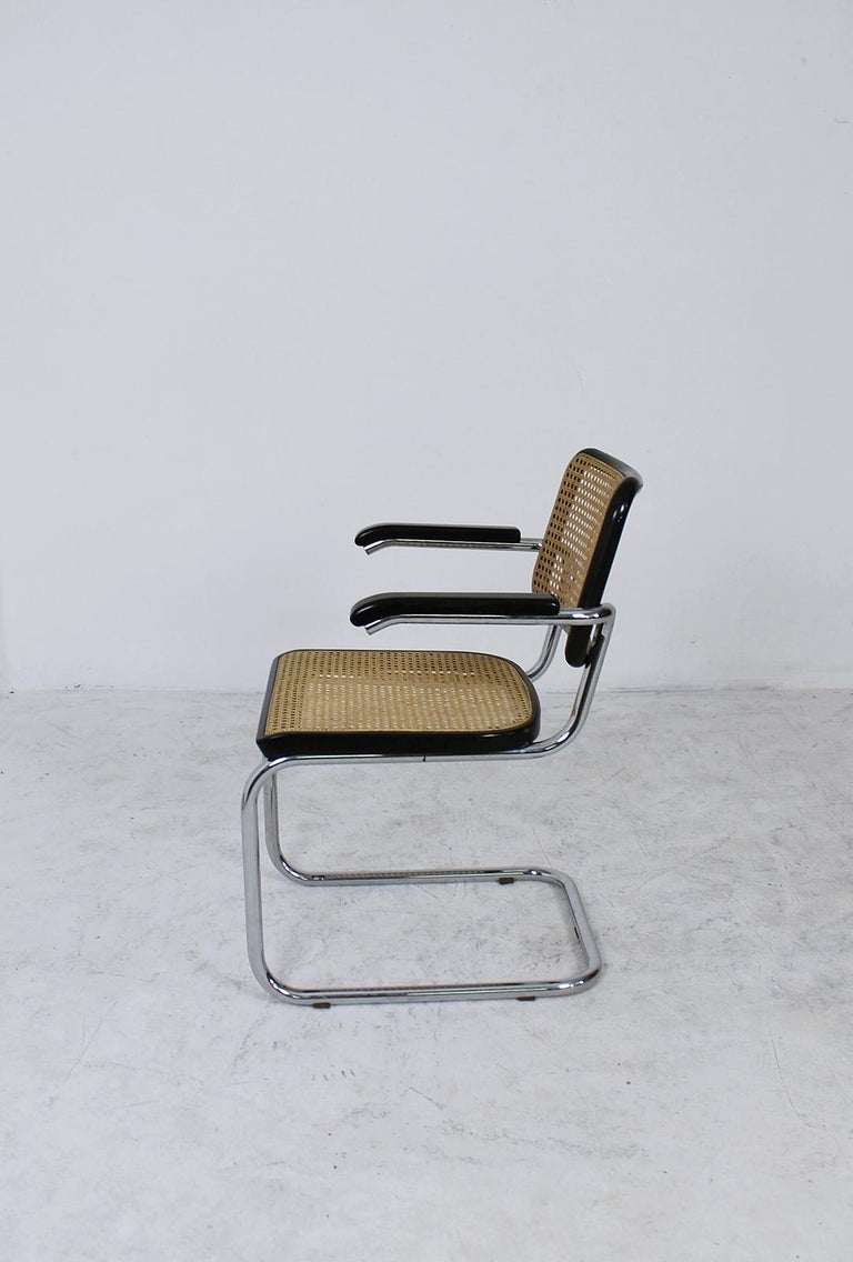 German Thonet Cantilever Armchair Model B64 by Marcel Breuer, 1927 For Sale